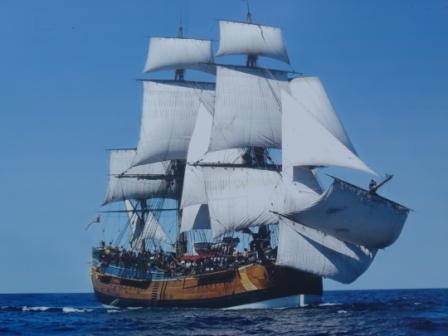 Tall Ship, The Endeavour