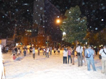 The Night it Snowed in Perth