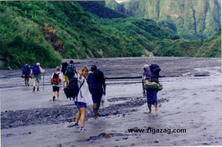 Unusual hikes of the world. Mount Pinatubo, The Philippines