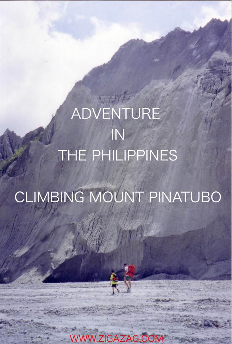 mount pinatubo, the philippines