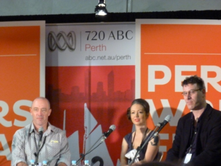 John Birmingham, Marieke Hardy, Paul French, Perth Writers Festival