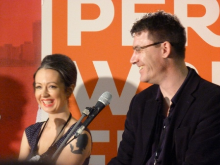 Marieke Hardy, Paul French, Perth Writers Festival