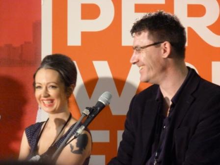 Marieke Hardy, Paul French, Perth Writers Festival