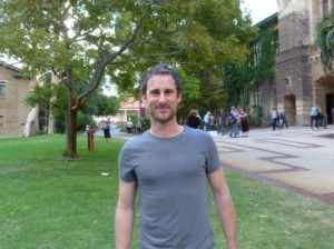 Author, Craig Silvey by Jo Castro
