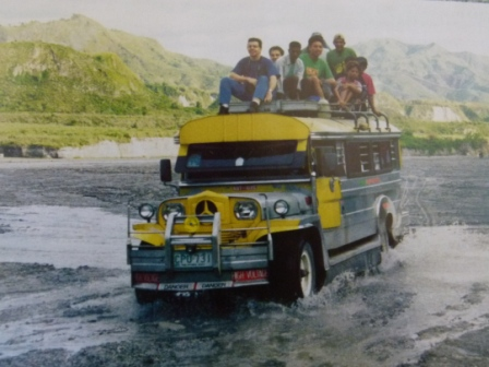 The Philippines, Jeepney, by Jo Castro, pic Copyright by Jo Castro