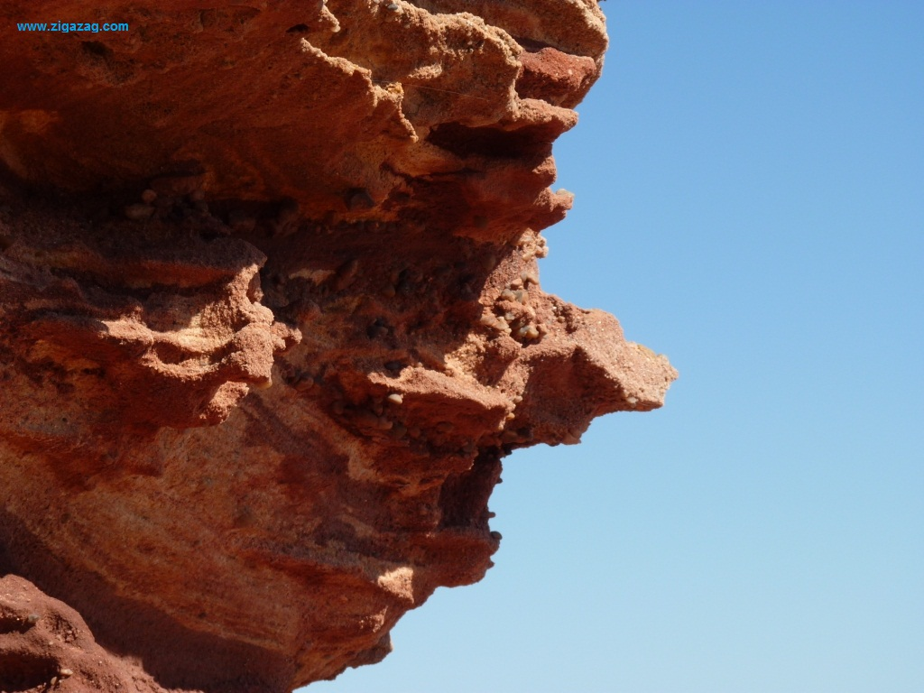 Shark Bay rock formation