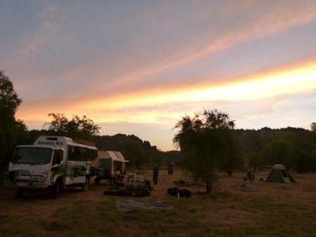 Windjana Camp by Dave Castro