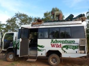 Unpacking, Adventure Wild by Dave Castro