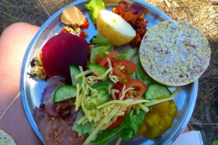 Kimberley lunch, by Jo Castro, Zigazag