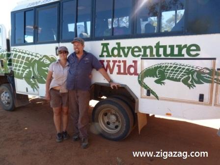 Adventure Wild tour leaders by Jo Castro