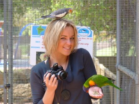 Bunbury Wildlife Park, Western Australia, by Jo Castro