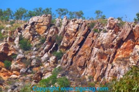 Kimberley rock by Jo Castro