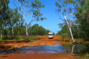 Water crossings on the Gibb River Road by Dave Castro