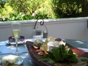 At Bread and Wine, Franschhoek by Johanna Castro