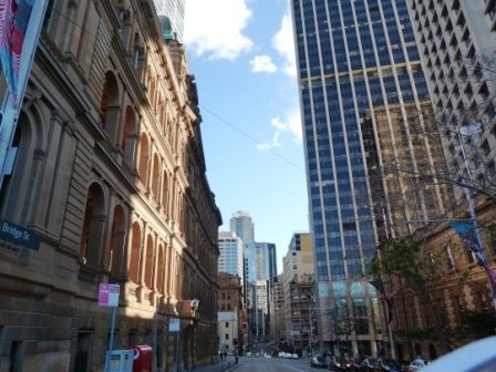 Sydney street by Jo Castro