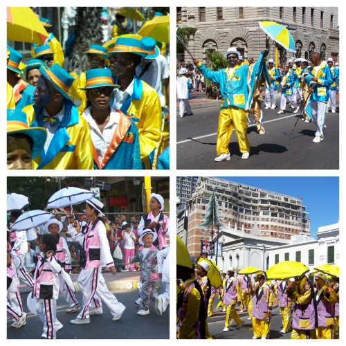 The Kaapse Klopse carnival in Cape Town by Jo Castro
