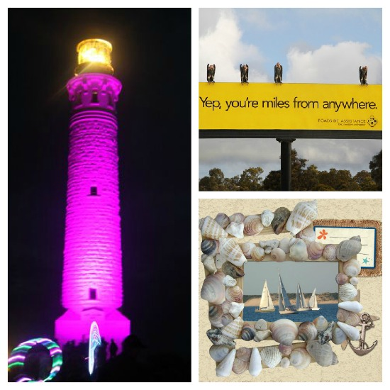 Western Australia, Cape Leeuwin Lighthouse, Kwinana Freeway, Koombana Bay