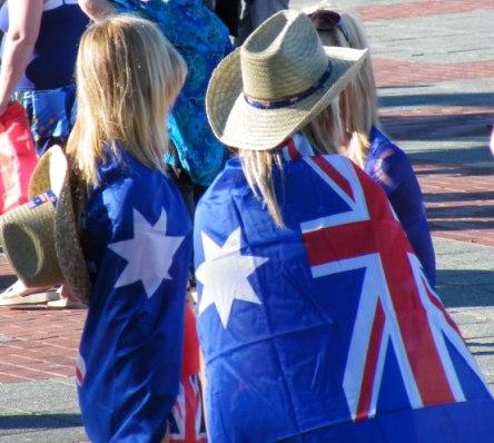 Australia Day by Jo Castro