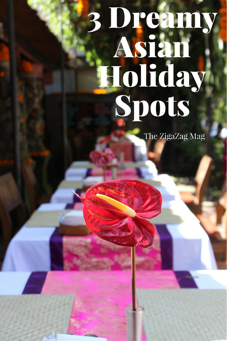 Asian Holiday Spots