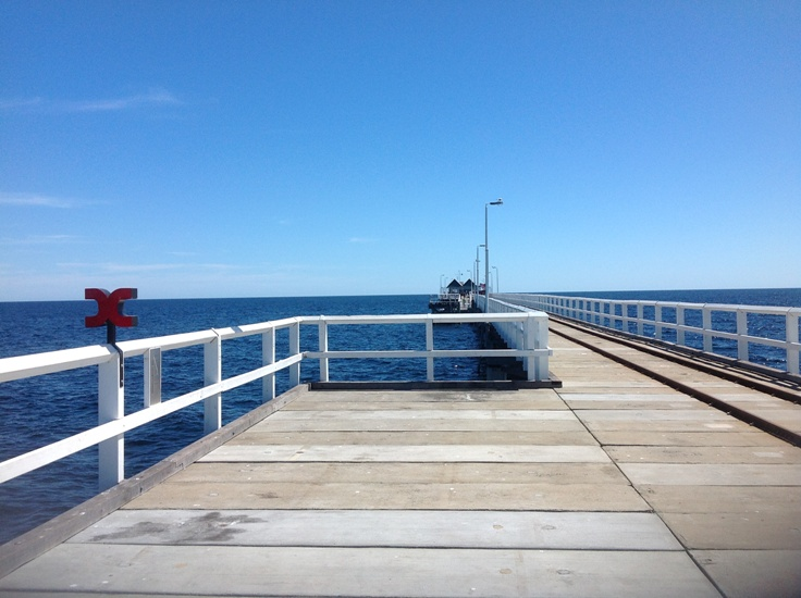 Busselton Jetty by Jo Castro