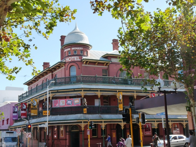 Things to do in Perth at night, Brass Monkey by Jo Castro