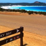 Lucky Bay, Esperance by Jo Castro