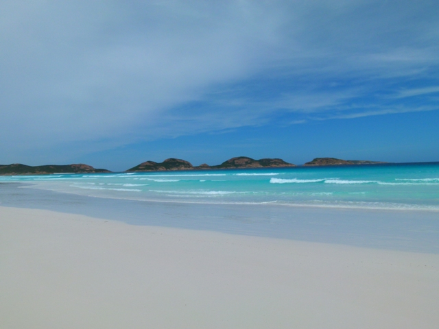 Beach Esperance by Jo Castro