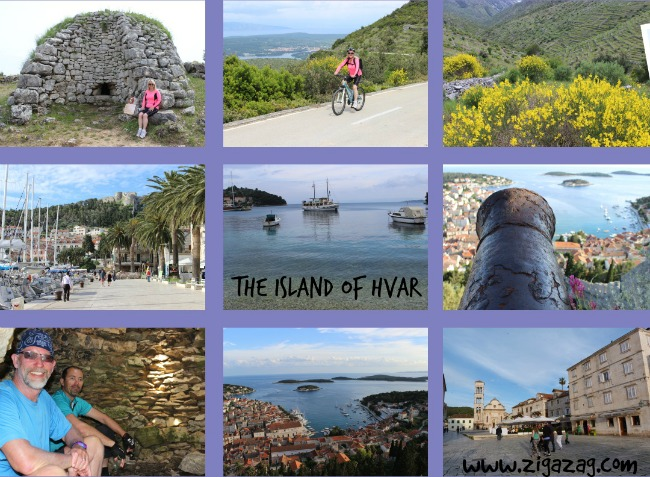 Cycle Cruise Holidays. Island hopping in Croatia.