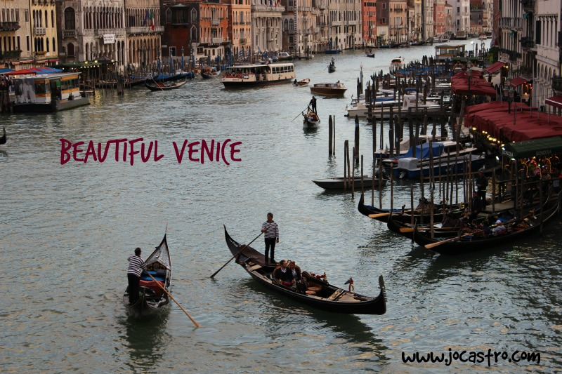 Overland adventure around Europe by Coach, Venice, Jo Castro