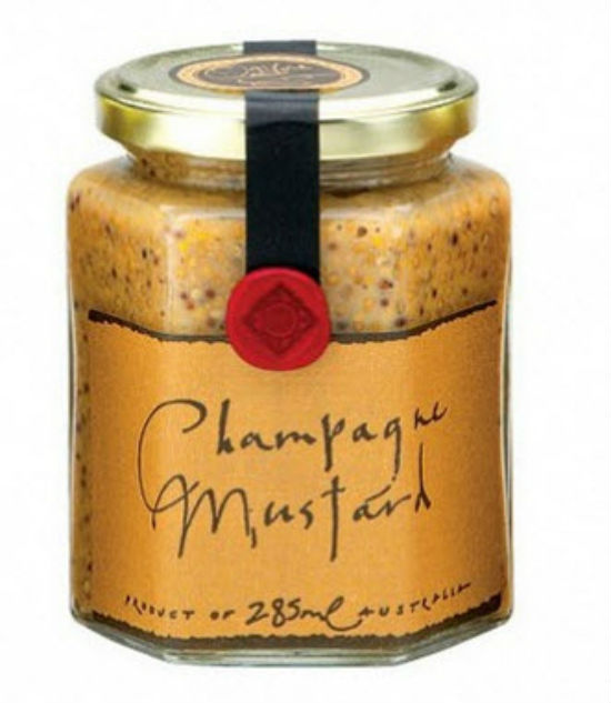 western australia foodie delights- Champagne mustard