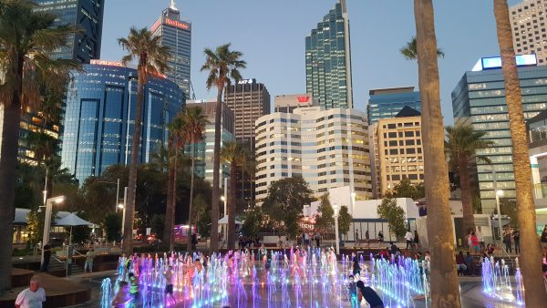 What's on in WA, pic of Perth skyline