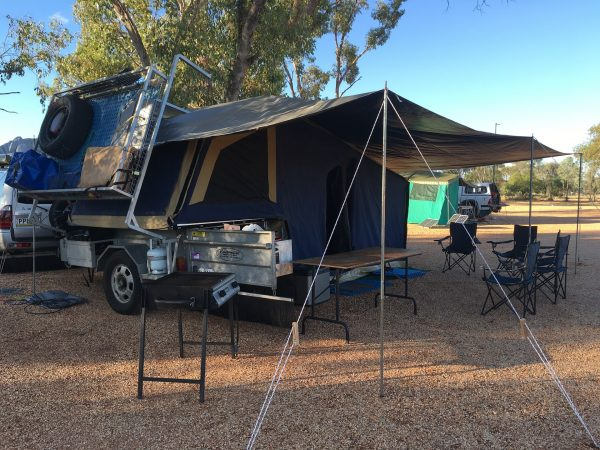 Camper Trailer vs Caravan Travel