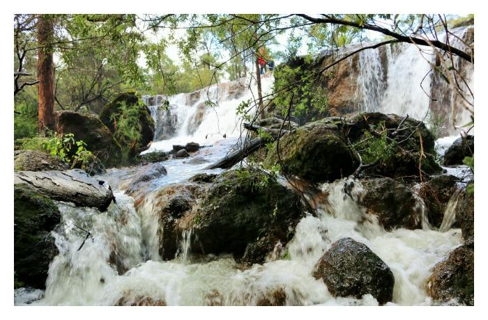 Photo of waterfall near Bunbury.