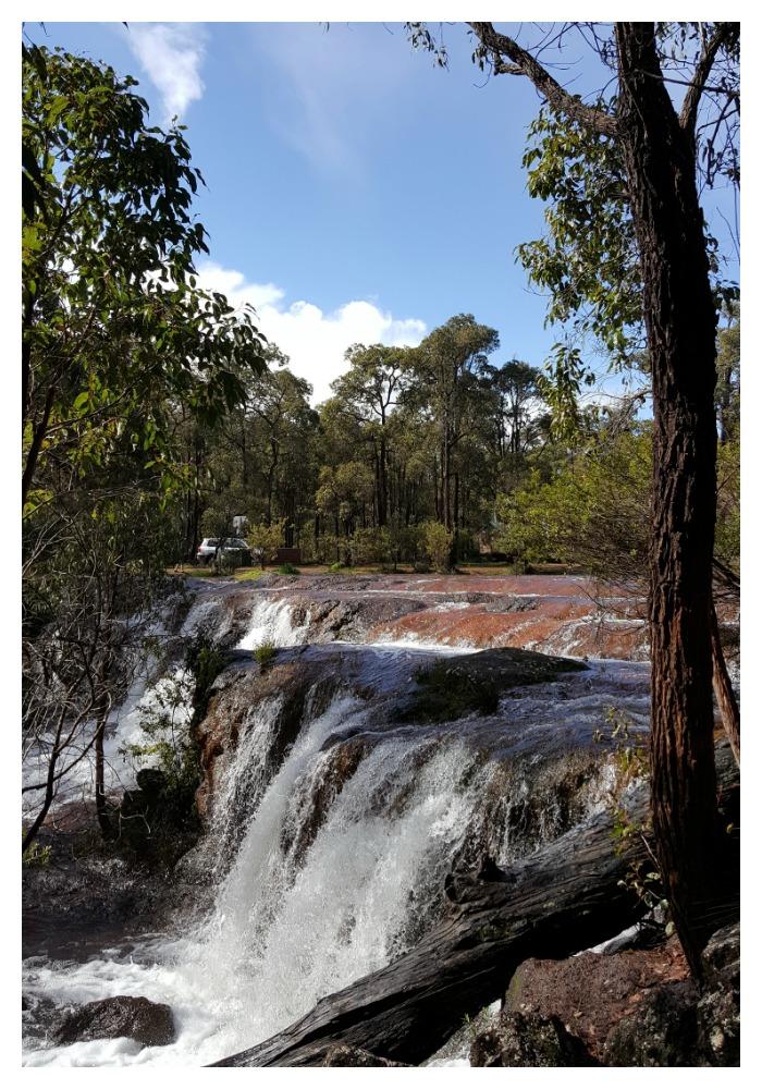 Photo of Iron Stone Gully Falls near Bunbury.
