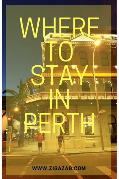Where to stay in Perth - The Melbourne Hotel