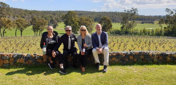 Barton Jones cellar door, views, Geographe Wine Region