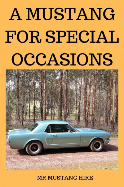 MR MUSTANG HIRE, Blue 1965 Mustang Coupe. Take a classic day tour of the Geographe Wine Region in SW Australia in a vintage car.