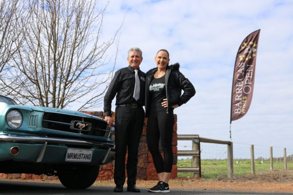 Mr Mustang Hire, Vince and Karen Civello