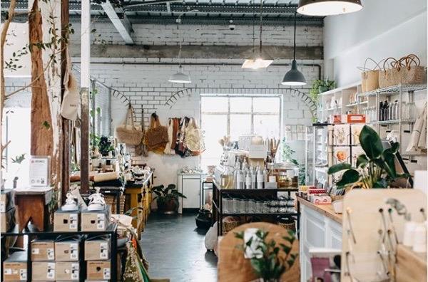 eco friendly coffee shops