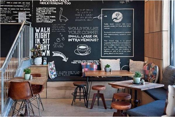 Eco friendly coffee shop in Busselton, Western Australia