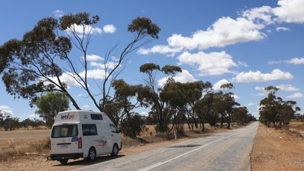 Corrigin, roads leading to