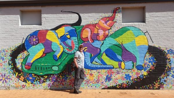 Corrigin street mural